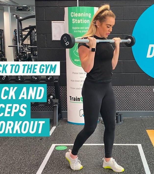 A Member Of Puregym Exercising