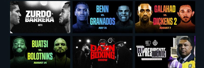 Boxing Matches On Dazn