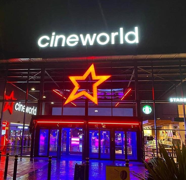 Cineworld Sharing The Entrance To One Of Their Theatres
