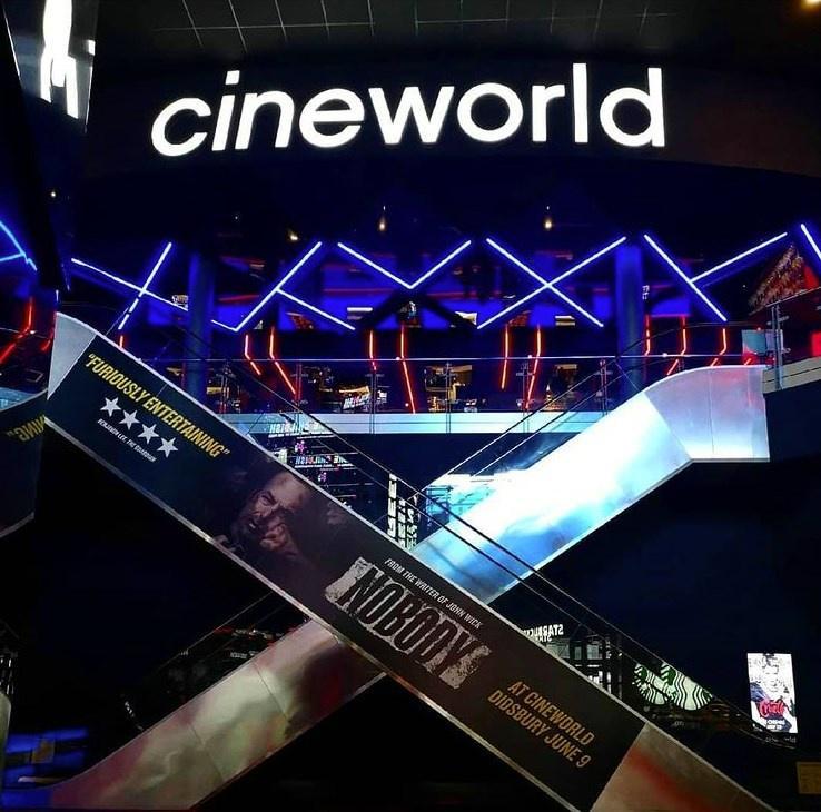 Entrance To Cineworld