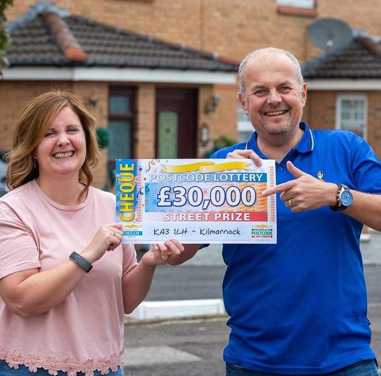Lucky Winners Of The Postcode Lottery