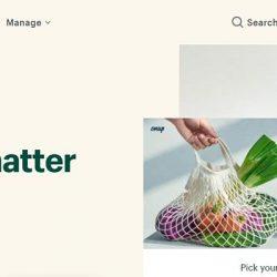 Sceenshot Of Shopify Website