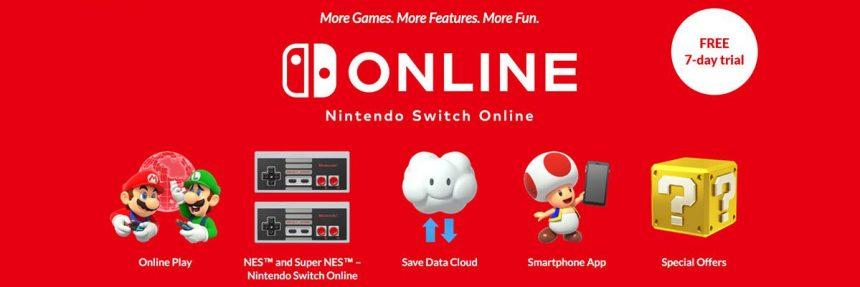 Screenshot Of Nintendo Online Website
