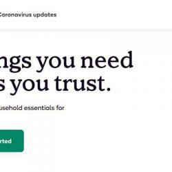 Screenshot Of Shipt Website