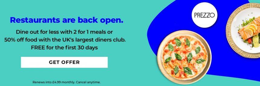 Screenshot Of Tastecard Website