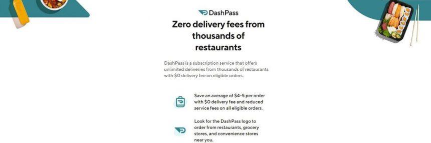 Subscription Benefits Of Dashpass