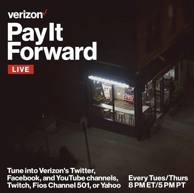 Verizon Fios Pay It Forward