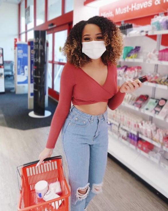 Woman Shopping At Cvs